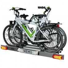 Zorro 3bike, klappbarer Fahrradträger für drei (elektrische) Fahrräder