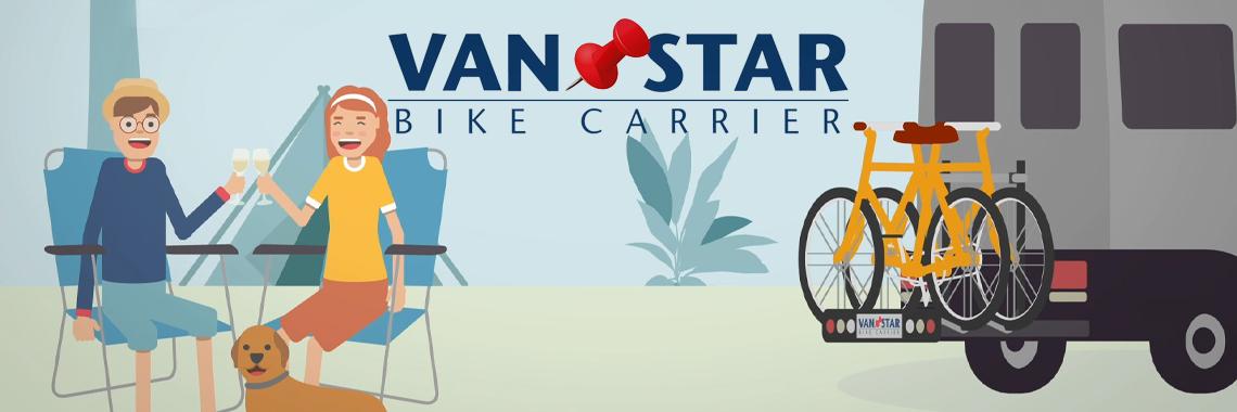 Van-Star Fahrradträger