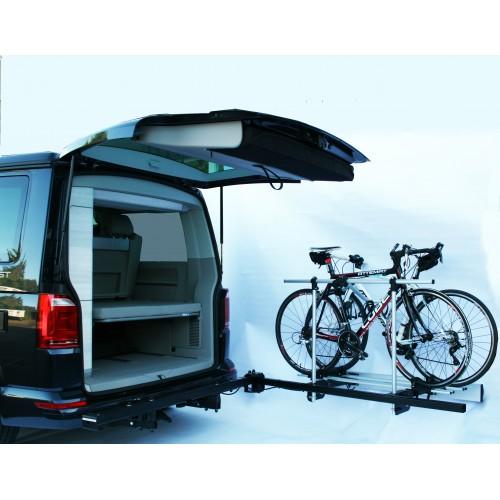 van star schwenkbare fahrradtr ger f r volkswagen t5 und t6. Black Bedroom Furniture Sets. Home Design Ideas